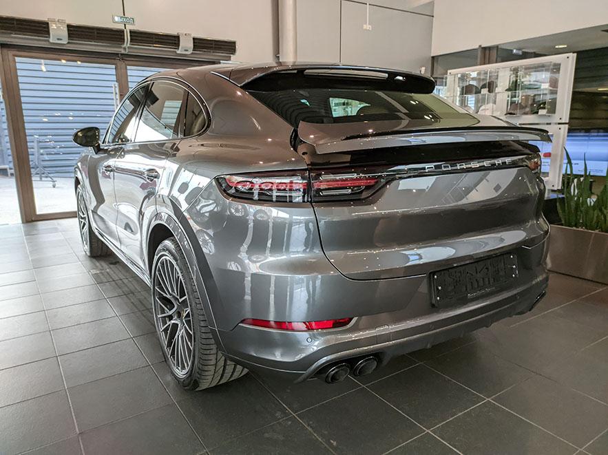 Porsche Cayenne Coupe фото